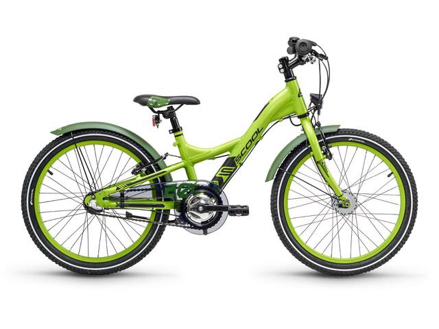 s'cool XXlite 20 3-S - Vélo enfant - alloy vert